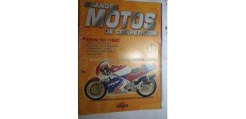 Grandes Motos de Competición - Fasciculo 52 - Honda RVF 1990 Altaya