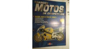 Grandes Motos de Competición - Fasciculo 46 - Suzuki Gsx r 750 cc 2001 Altaya