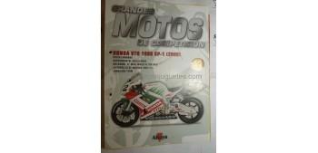 Grandes Motos de Competición - Fasciculo 41 - Honda Vtr 1000 Sp-1 2000 Altaya