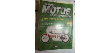 Grandes Motos Competición - Fasciculo 36 - Yamaha Rd 05 250 1968