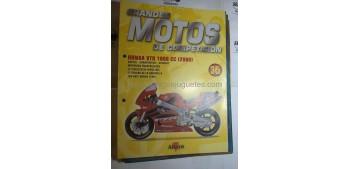 Grandes Motos de Competición - Fasciculo 35 - Honda Vtr 1000 cc 2000 Altaya