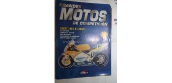Grandes Motos de Competición - Fasciculo 30 - Ducati 996 r 2001 Altaya
