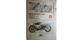 Grandes Motos de Competición - Fasciculo 19 - Suzuki Rgb 500 cc 1981 Altaya