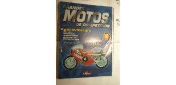 Grandes Motos de Competición - Fasciculo 15 - Derbi 125 Twin 1971 Altaya