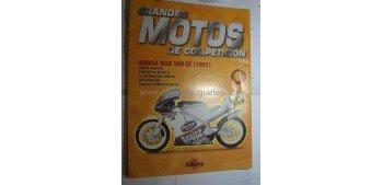 Grandes Motos de Competición - Fasciculo 09 - Honda Nsr 500 cc 1987 Altaya