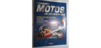Grandes Motos de Competición - Fasciculo 07 - Honda nsr 500 cc 1998 Altaya