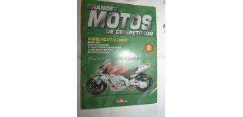 Grandes Motos de Competición - Fasciculo 05 - Honda Rc 211 v 2002 Altaya