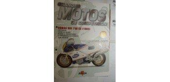 Grandes Motos de Competición - Fasciculo 49 - Honda Rvf 750 cc 1985 Altaya