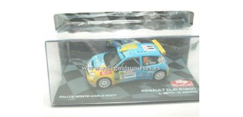 miniature car Renault Clio Montecarlo S1600 2007 Betti 1/43