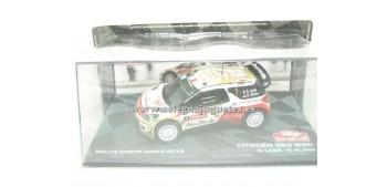 coche miniatura Citroen DS3 WRC Loeb Montecarlo 2013 1/43