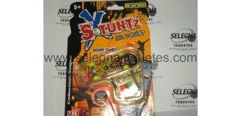 Mini Monopatín modelo 04 Skate board de dedos Stunzt