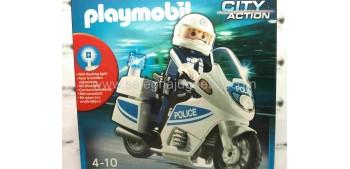 Playmobil - Motorista Policia referencia 5185 Playmobil