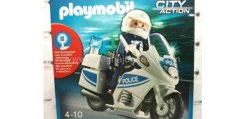 Playmobil Motorista Policia 5185