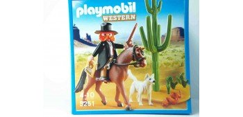Playmobil - Sheriff con caballo Playmobil