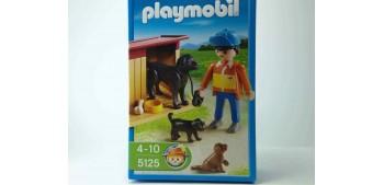 Playmobil Perros con cuidador 5125