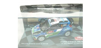 miniature car Ford Fiesta Rs WRC Solberg 2012 Montecarlo 1/43