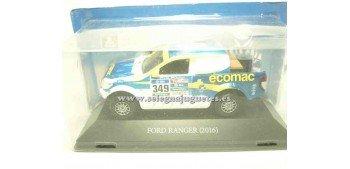 miniature car Ford Ranger 2016 Dakar 1/43 Ixo