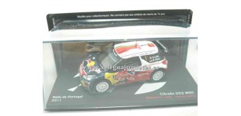 miniature car Citroen Ds3 WRC Loeb Portugal 2011 1/43 Ixo