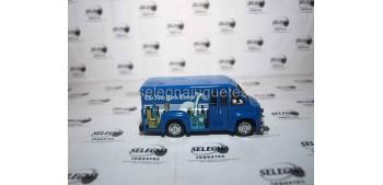 coche miniatura Dodge Route Van New York (Prensa) Matchbox