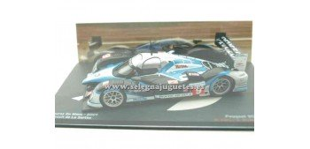 miniature car Peugeot 908 HDI FAP Gene Le Mans 2009 1/43 Ixo