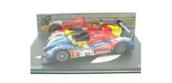 miniature car Oreca O1 AIM Le Mans 2010 (showcase damage) 1/43