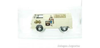coche miniatura Volkswagen Transporter Nescafe Corgi