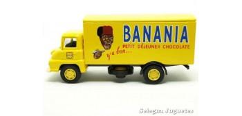 coche miniatura Dodge Truck Banania Corgi furgoneta