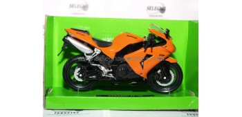 miniature motorcycle Kawasaki ZX 10R 1:12 New