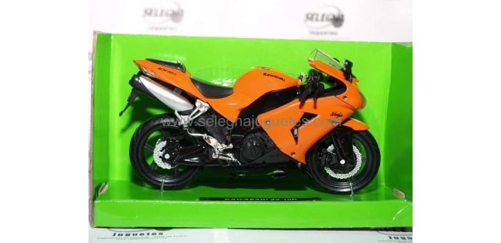 moto miniatura Kawasaki ZX 10R 1/12 New
