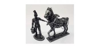 Waiter and horse Gran Armée de Napoleón scale 1/32