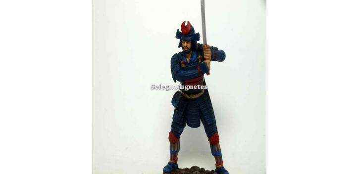 Samurai Momoyama Soldado Plomo escala 90 mm Altaya