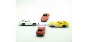 miniature car Ferrari Gto 1962 escala 1/160 Euro Model Small