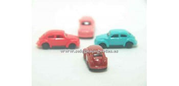 miniature car Volkswagen Beetle escala 1/160 Euro Model Small