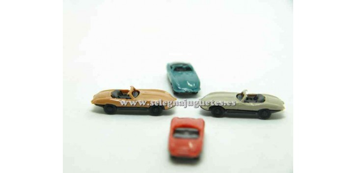 Jaguar E type escala 1/160 Euro Model Coche a escala muy pequeño