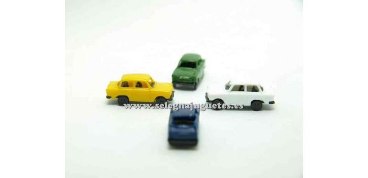 coche miniatura Trabant escala 1/160 Euro Model Coche a escala