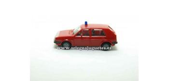 coche miniatura Volkswagen Golf 1/87 Herpa Bomberos