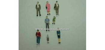 8 Figuras - Diorama 1/43 (artículo sin caja)