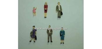 6 Figures - Diorama 1/43 (item without box)
