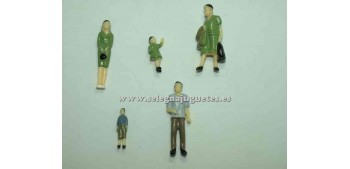 5 Figures - Diorama 1/43 (item without box)