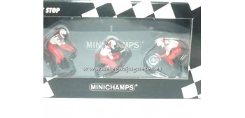 Panasonic Toyota Racing set 02 1/43 Minichamps