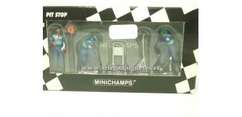miniature car Sauber Petronas set 01 1/43 Minichamps