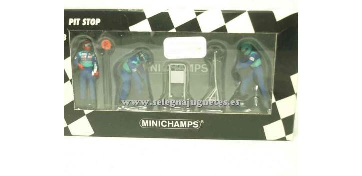 coche miniatura Sauber Petronas set 01 1/43 Minichamps