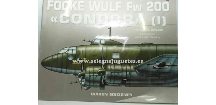 avion miniatura Avión - Libro - Focke Wulf FW 200 Condor I