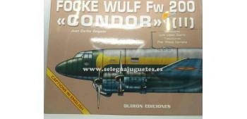 avion miniatura Avión - Libro - Focke Wulf FW 200 Condor II