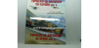 avion miniatura Avión - Libro - Tupoliev SB Katiuska