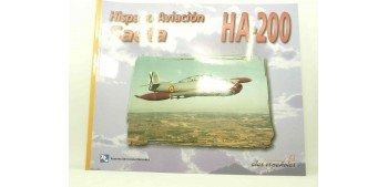 Avión - Libro - Saeta Ha-200 Hispano Aviación