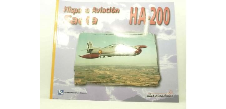 avion miniatura Avión - Libro - Saeta Ha-200 Hispano Aviación