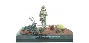 Diorama - Sargento 6º regimiento Infantería