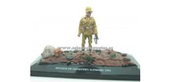 lead figure Diorama - Brigada de zapadores Alemania 1941