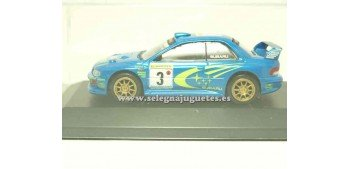 miniature car Subaru Impreza WRC Burns 2000 1/43 Ixo